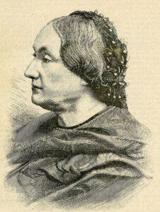 Caterina Percoto - Illustrazione di Ernesto Mancastroppa