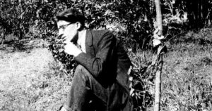 Cesare Pavese © LAPRESSE Archivio Storico Anni '40