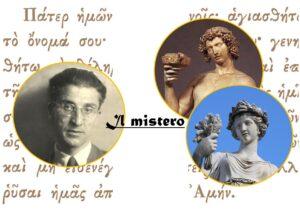 Cesare Pavese - Dioniso - Demetra