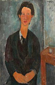 Chaïm Soutine, ritratto da Modigliani nel 1916