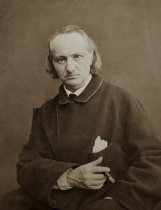 Charles Baudelaire, 1865, Photo by Charles Neyt, Brussels
