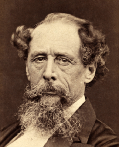 Charles Dickens portrait c1860