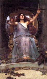Circe offre la coppa ad Ulisse - Painting by John William Waterhouse - 1891