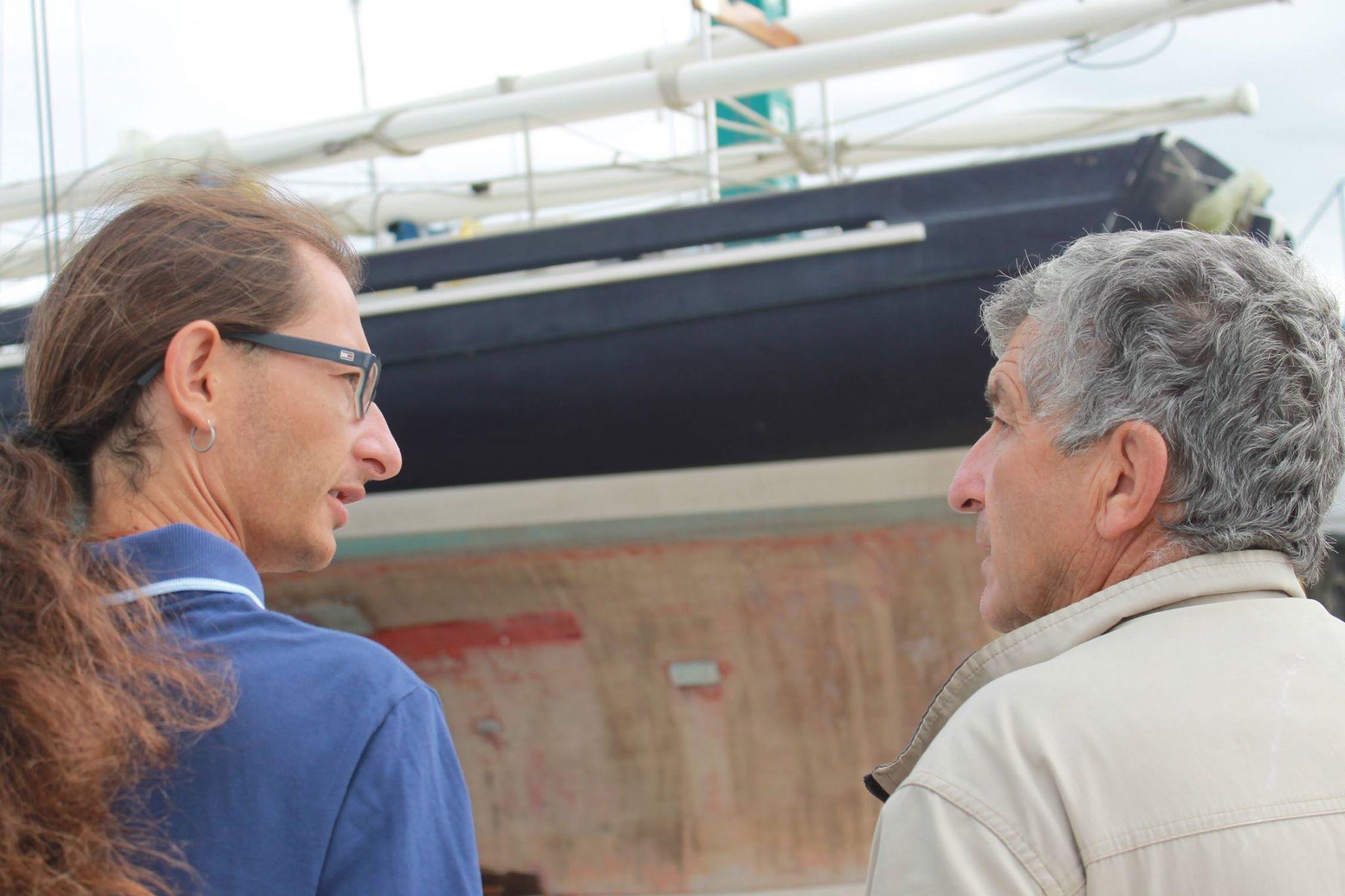 Intervista di Claudio Fadda a Giulio Ciani Bassetti: della vela, di Carlo Sciarrelli e dello Schooner Dragut