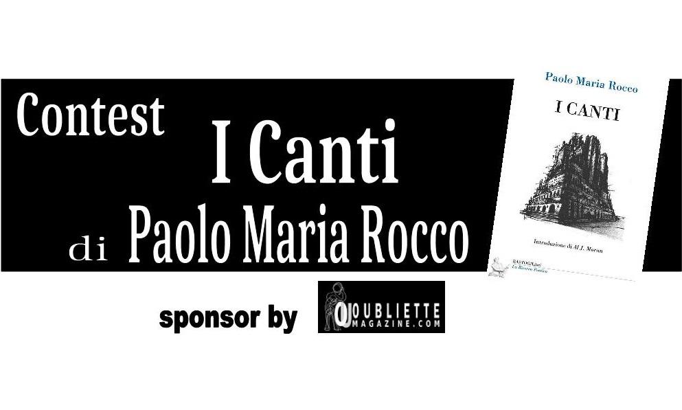 """Contest Letterario di Poesia """"I Canti"""" – partecipazione gratuita"""