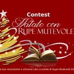 """Contest letterario """"Natale con Rupe Mutevole Edizioni"""": scrivi la tua recensione"""