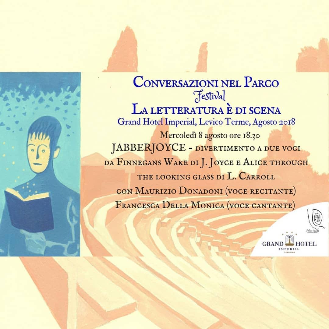 """""""Conversazioni nel parco – La letteratura è di scena"""": la seconda edizione si apre l'8 agosto a Levico Terme"""