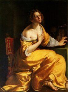 Conversione della Maddalena - Artemisia Gentileschi