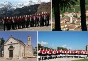 Coro alpino di Tuenno - Tuenno - Usini Chiesa Santa Croce - Coro sardo di Usini