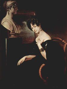 Cristina Trivulzio di Belgiojoso - 1832, di Francesco Hayez