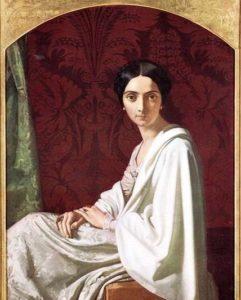 Cristina Trivulzio di Belgiojoso by Henri Lehmann
