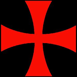 Croce templare, simbolo per eccellenza dell'ordine