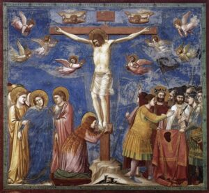 Crocifissione - Painting by Giotto - 1305, Cappella Scrovegni, Padova