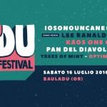 'DU – Bauladu Music Festival 2016: ecco come si presenta l'ottava edizione, 16 luglio, Bauladu