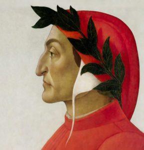 Dante Alighieri - Painting by Sandro Botticelli, 1495