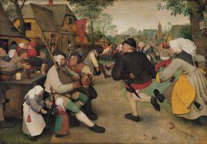 Danza di contadini - Pieter Bruegel