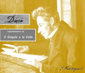 Diario di Søren Kierkegaard - il Singolo e la Folla
