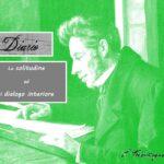 """""""Diario"""" di Søren Kierkegaard: la solitudine ed il dialogo interiore"""