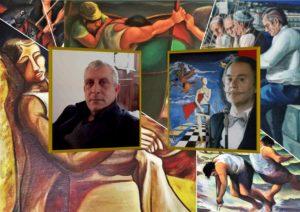 Diego Celi - José Van Roy Dalì - Quadri di Lorenzo Chinnici