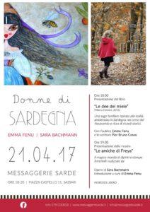 """""""Donne di Sardegna"""": Emma Fenu incontra Le amiche di Freya, 21 aprile 2017, Sassari"""
