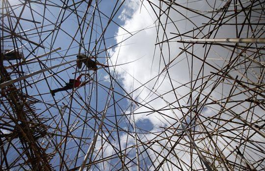 """Big Bambù"" dei gemelli Doug e Mike Starn: dal 10 giugno al Museo Israeliano di Gerusalemme"