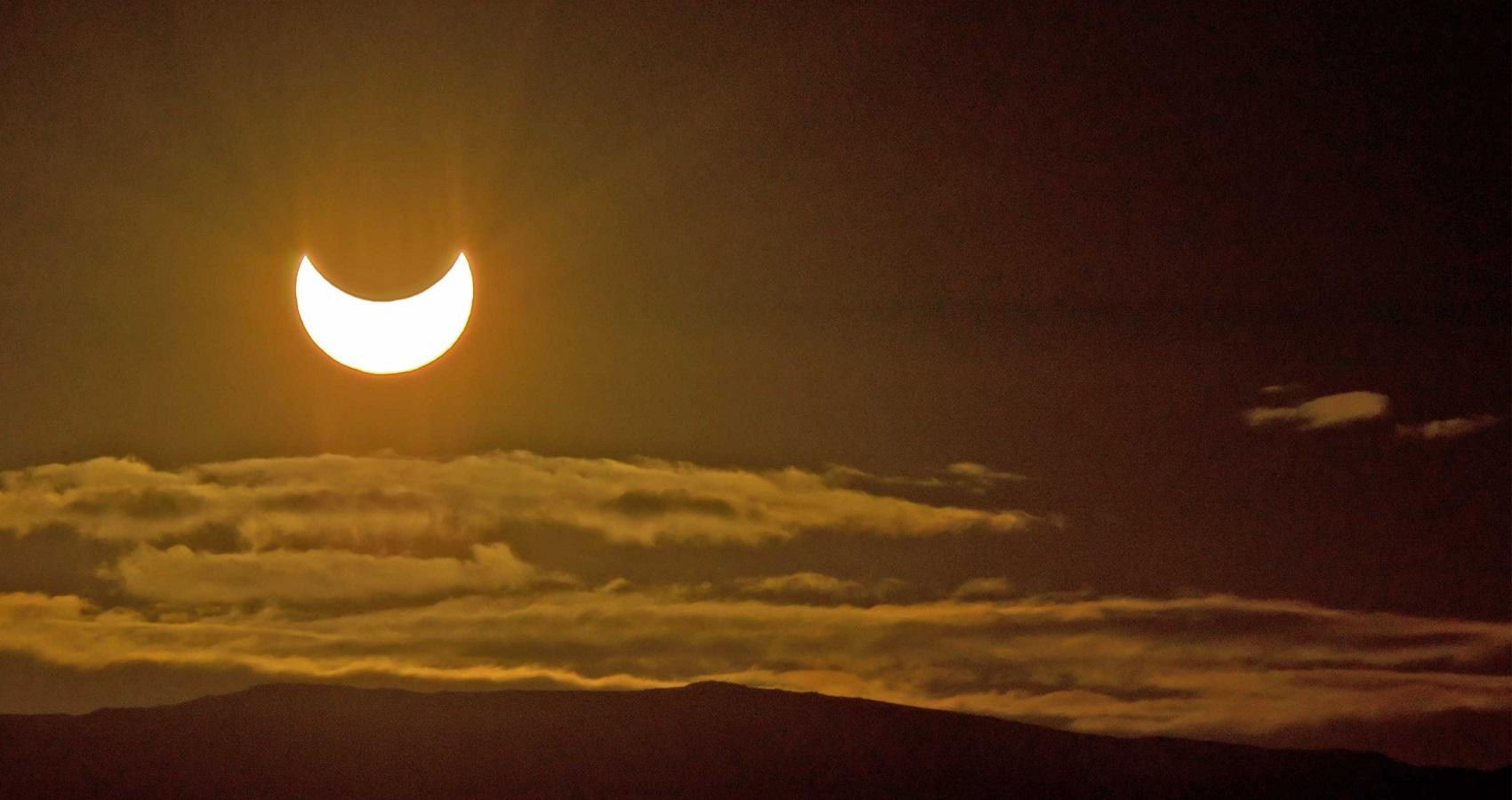 Eclissi di Sole parziale visibile in Italia venerdì 20 marzo 2015