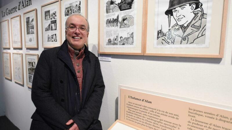 """""""La guerra di Alan"""" graphic novel di Emmanuel Guibert: un uomo qualunque durante la Seconda guerra mondiale"""
