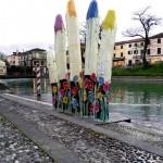 """""""La mano dell'acqua"""": un'installazione di Enrico Marcato in mostra dal 3 giugno al 30 settembre, a Padova"""