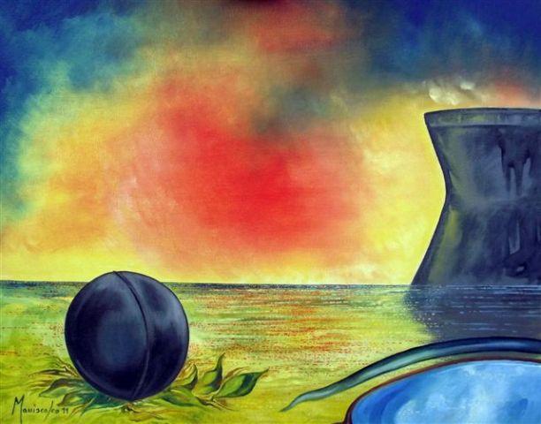 La Sicilia nelle opere del pittore Enzo Maniscalco