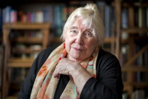 Fay Weldon - Photo by The Times