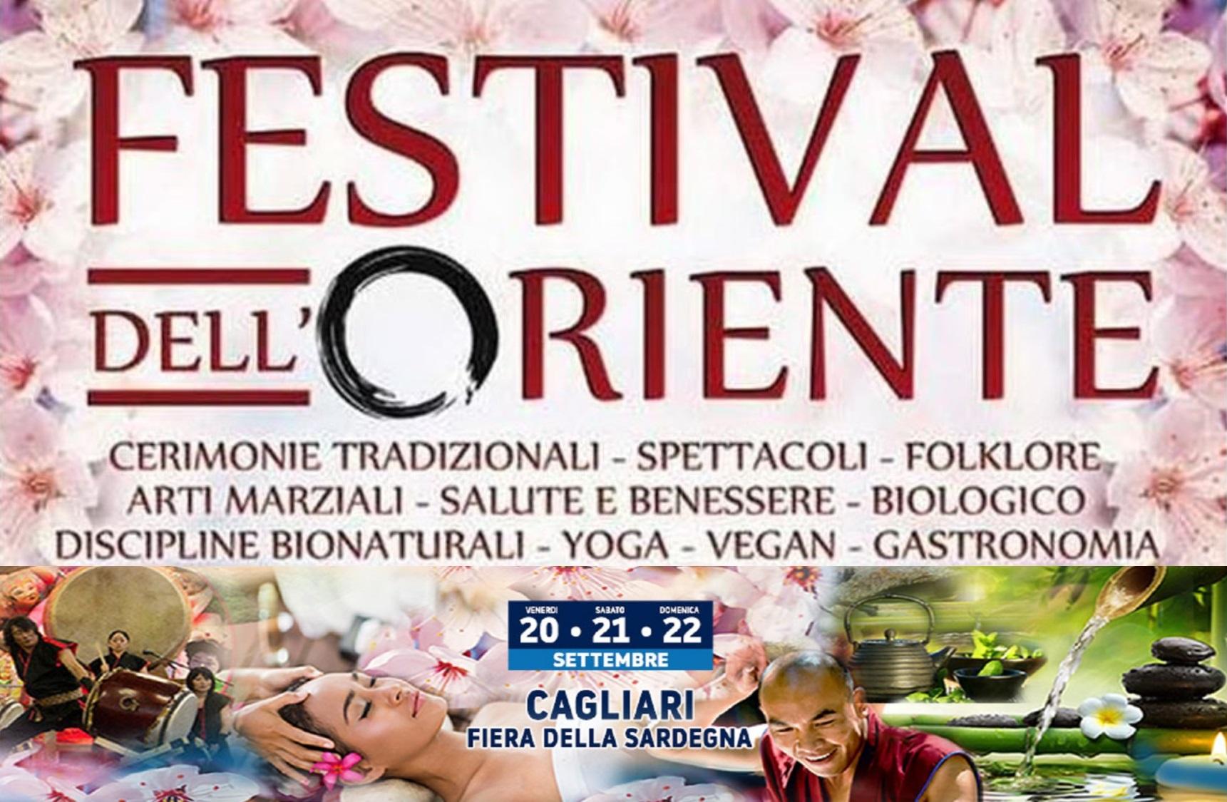 Il Festival dell'Oriente arriva a Cagliari: dal 20 al 22 settembre 2019 alla Fiera della Sardegna