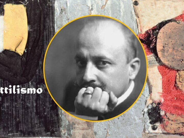 """""""Tattilismo e Lo splendore geometrico e meccanico"""" di Filippo Tommaso Marinetti: i gomiti vedono, le ginocchia ascoltano"""