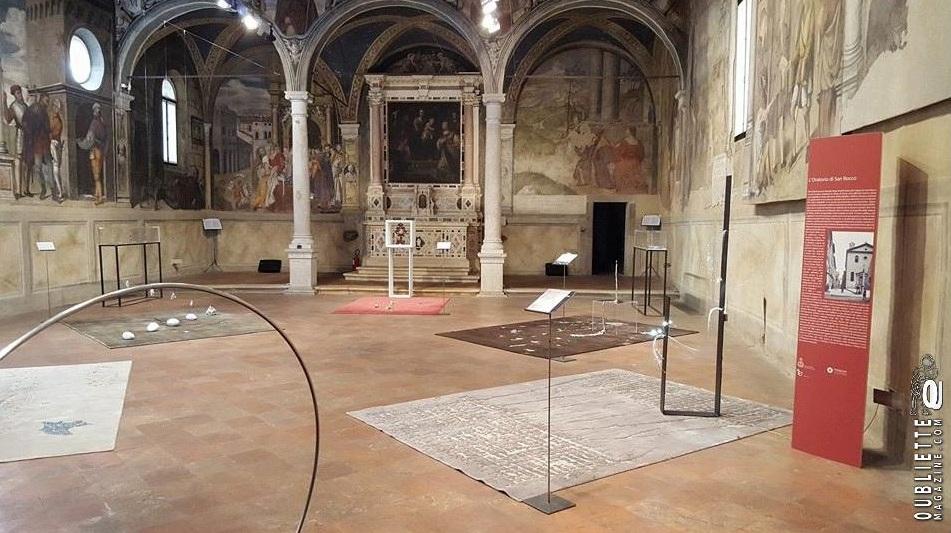 """""""Fluxi"""" di Miranda Greggio e Paolo Sartori, dal 9 luglio al 28 agosto 2016 in mostra all'Oratorio di San Rocco a Padova"""