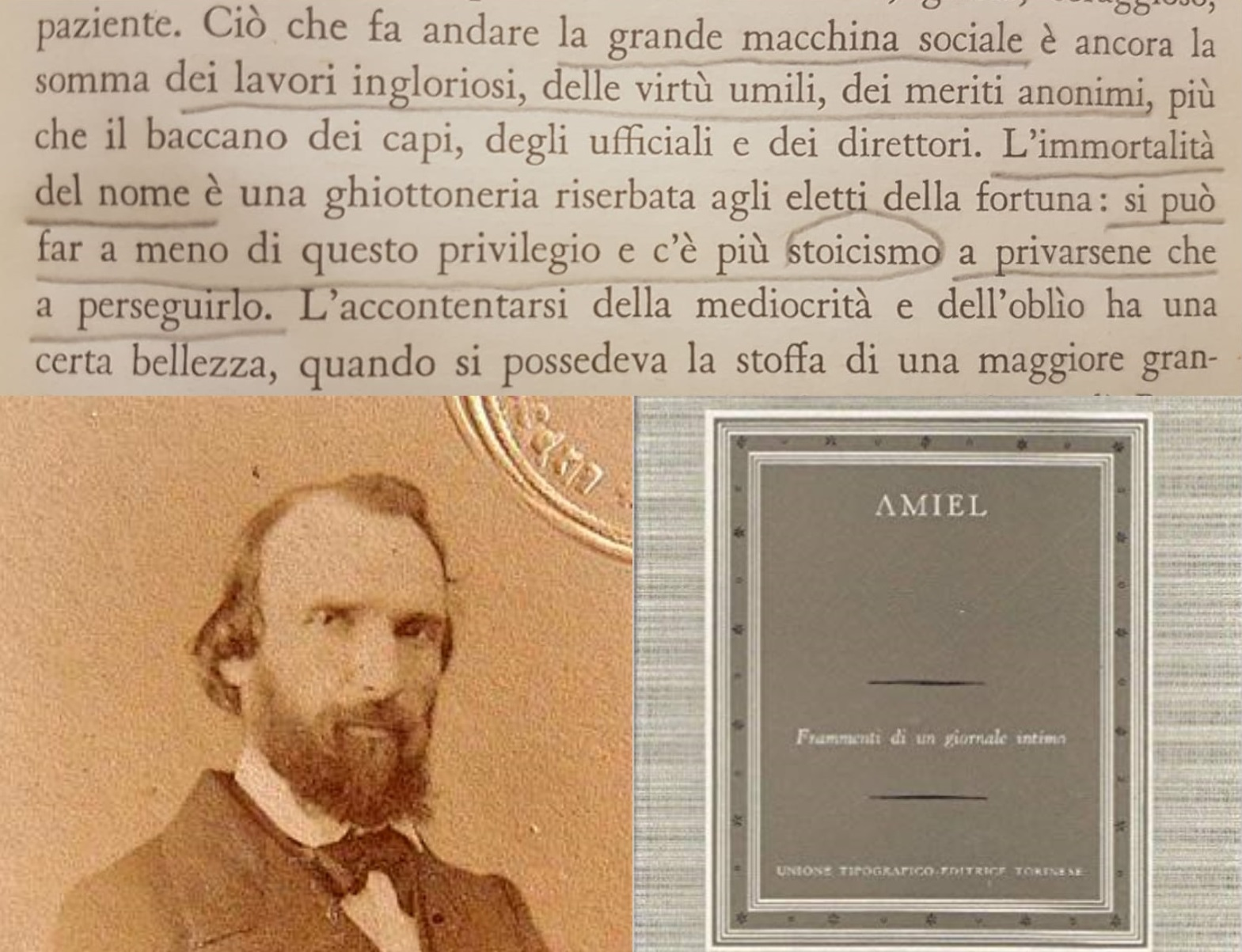 """""""Diario intimo"""" di Henri-Frédéric Amiel: l'era della mediocrità – ottobre 1851/1875"""