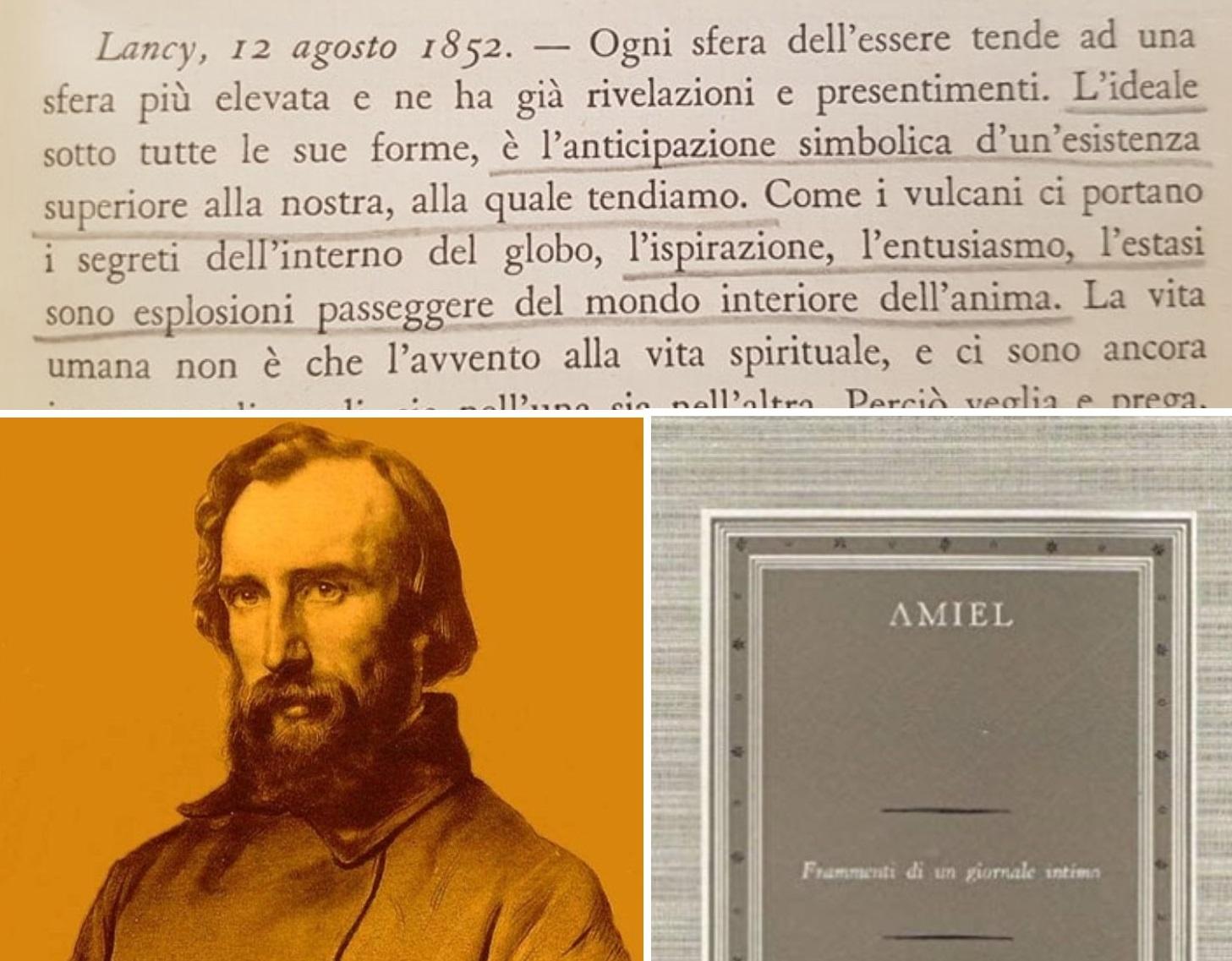 """""""Diario intimo"""" di Henri-Frédéric Amiel: l'uomo d'ingegno e l'uomo di genio – agosto 1852/1859"""