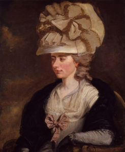 Frances Fanny Burney by Edward Francisco Burney - 1784