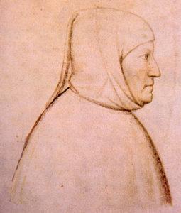 Francesco Petrarca - ritratto di Altichiero da Verona -1370 circa