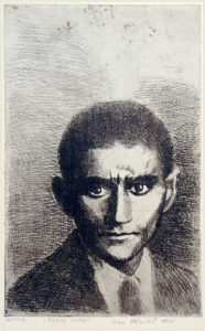 Franz Kafka, acquaforte di Jan Hladík 1978