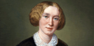George Eliot -ritratto di François D'Albert Durade