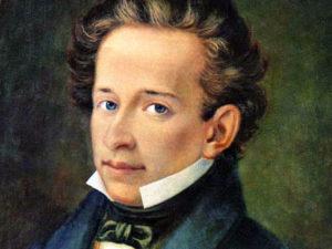 Giacomo Leopardi - Painting by A. Ferrazzi - 1820