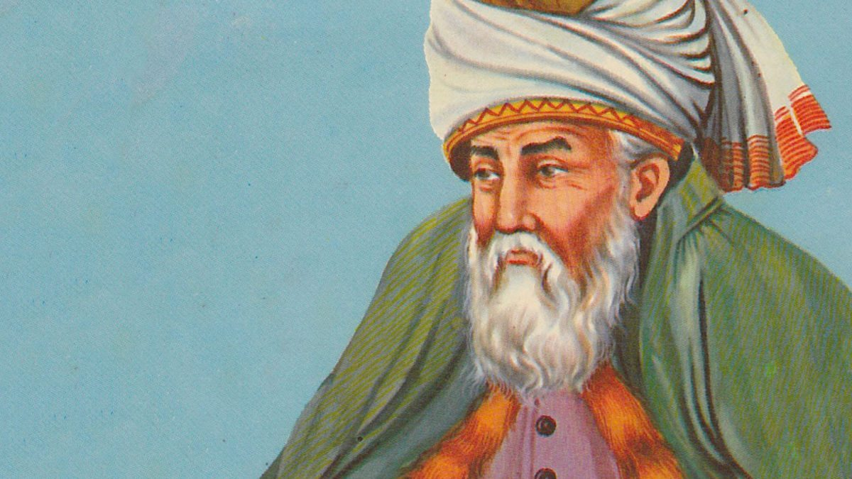 """Il poeta e il santo"", poesia di Gialâl ad-Dîn Rûmî"
