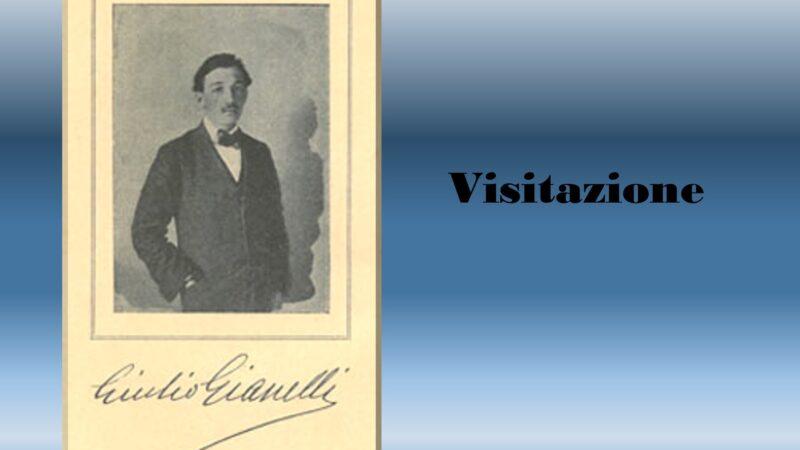 """""""Visitazione"""" poesia di Giulio Gianelli: dedicata al poeta Sergio Corazzini"""
