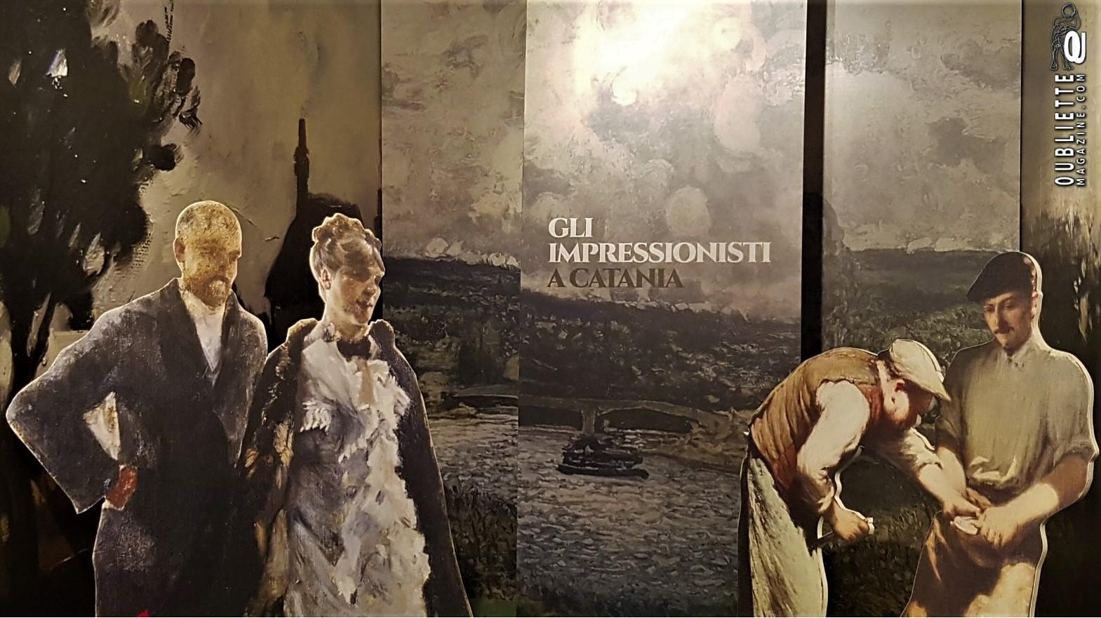 """""""Gli impressionisti a Catania"""": la ricerca di risposta ai cambiamenti di un'epoca, visitabile sino al 21 aprile 2019"""
