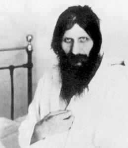 Grigorij Efimovic Rasputin in ospedale dopo il tentato assassinio 1914