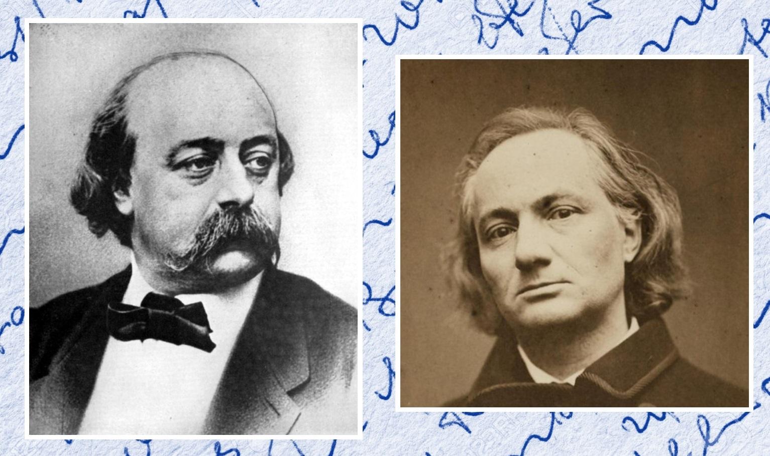 """""""Il vulcano malato"""" di Charles Baudelaire: le lettere di Gustave Flaubert"""