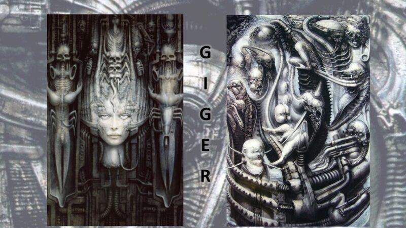 Hans Ruedi Giger: gli incubi, i labirinti interiori, i pozzi e le mutazioni genetiche