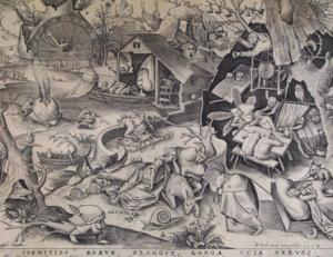 I sette vizi capitali - La Pigrizia - Pieter Bruegel