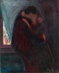 Il Bacio - Edvard Munch