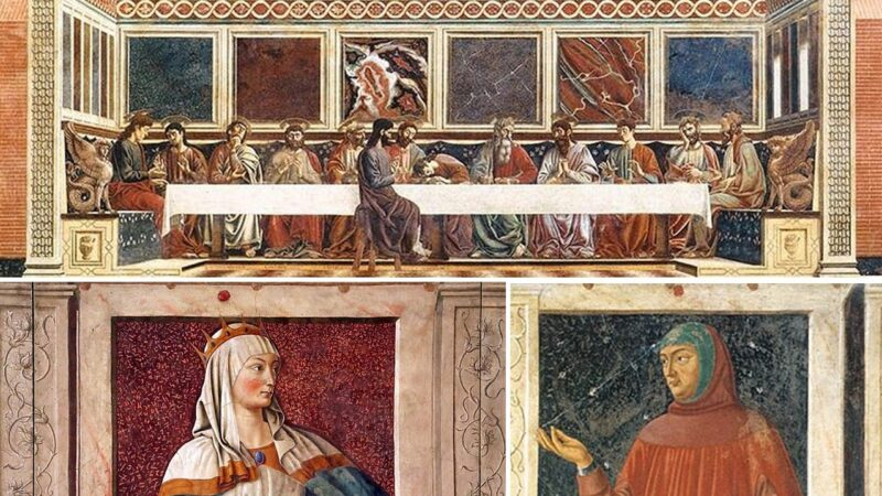 Andrea del Castagno: la pittura, l'invidia e l'omicidio di Domenico Veneziano
