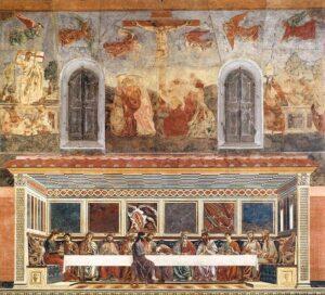 Il Cenacolo di Sant'Apollonia, Firenze - Painting by Andrea del Castagno